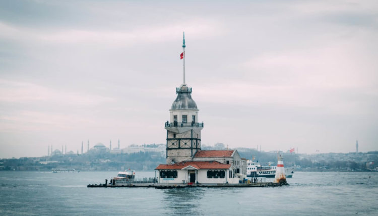 The-Maidens-Tower-In-Istanbul